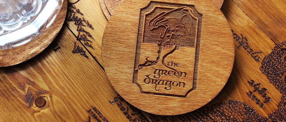 The Green Dragon Coasters