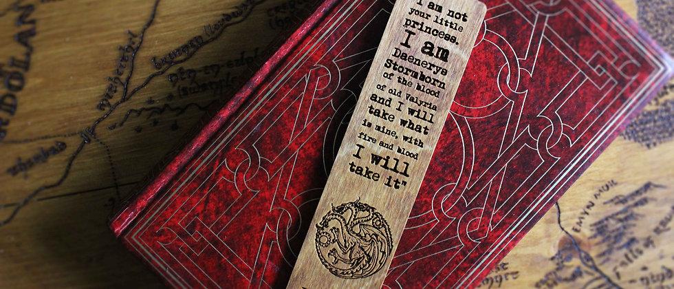 Daenerys Targaryen Bookmark