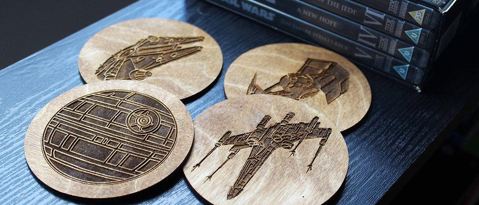 Star Wars Ships Coasters