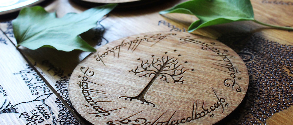 Tree of Gondor Coasters