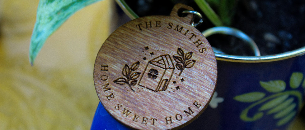Home Sweet Home Keyring
