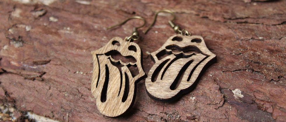 Rolling Stones Earrings