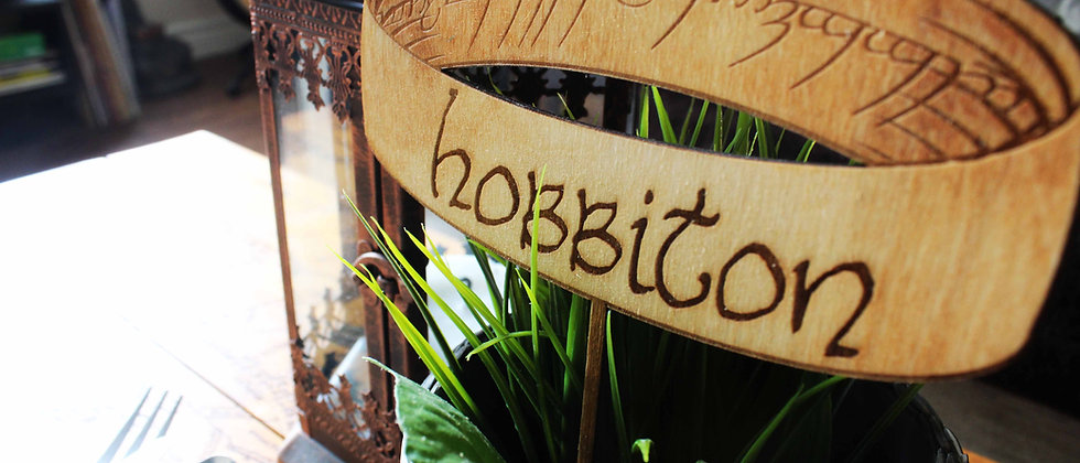 One Ring Table Sign