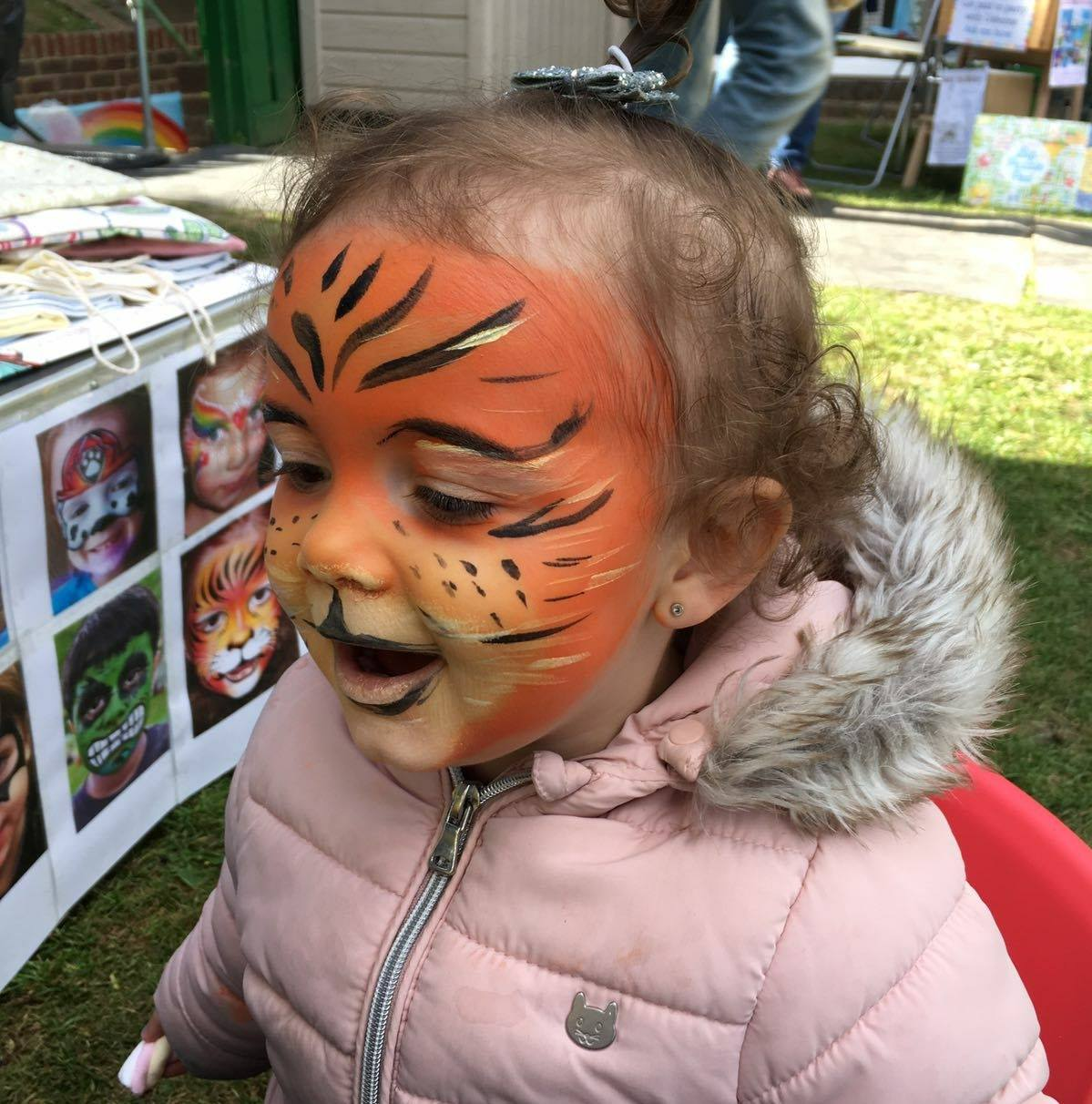 Fundraising Face Paint!