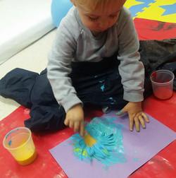 Baby Stars Painting Fun