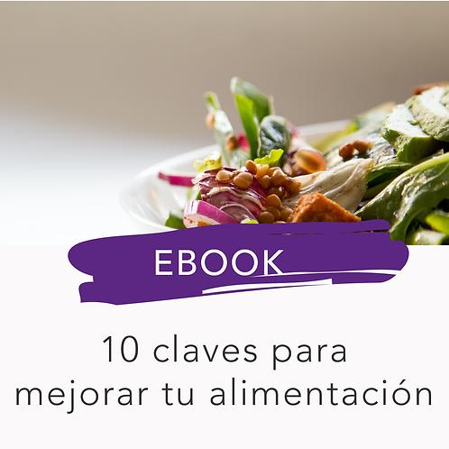EBOOK - 10 claves para mejorar tu alimentación