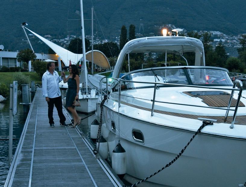 Anlegestelle Hafen Ascona