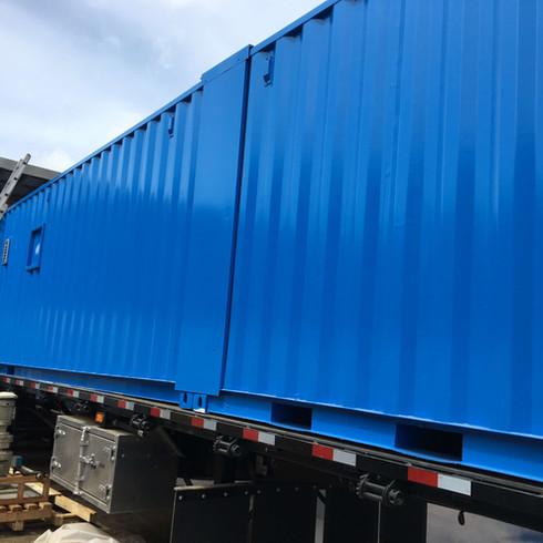 Mobile Water Treatment Plant