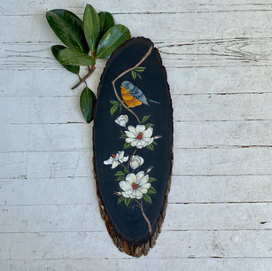 Magnolias & Bird