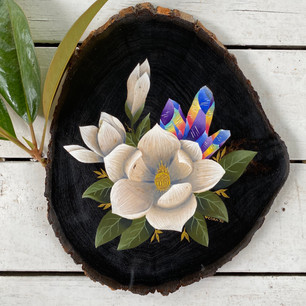 Magnolias & Crystals
