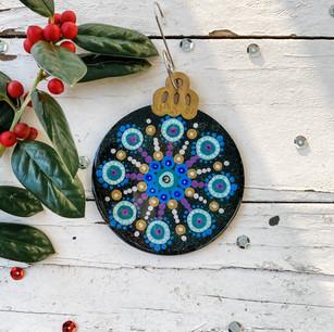 Turquoise Mandala No. 2