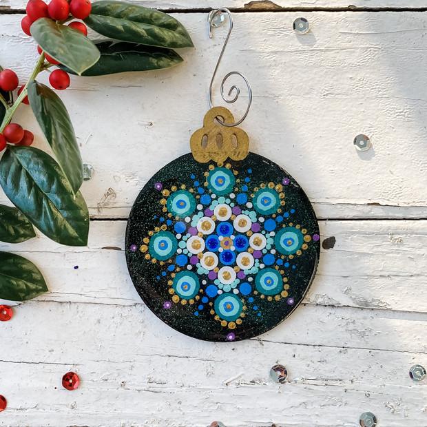 Turquoise Mandala No. 1