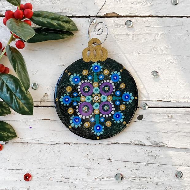 Turquoise Mandala No. 4