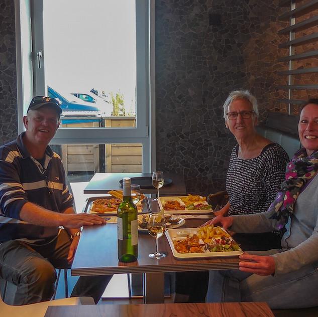 Holanda, Neeltje Jans; Lunch time