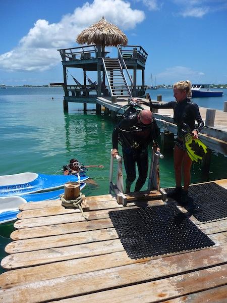 Honduras, Utila ; Diving course (3)