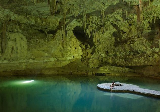 Mexico, Cenote Suytun (1)