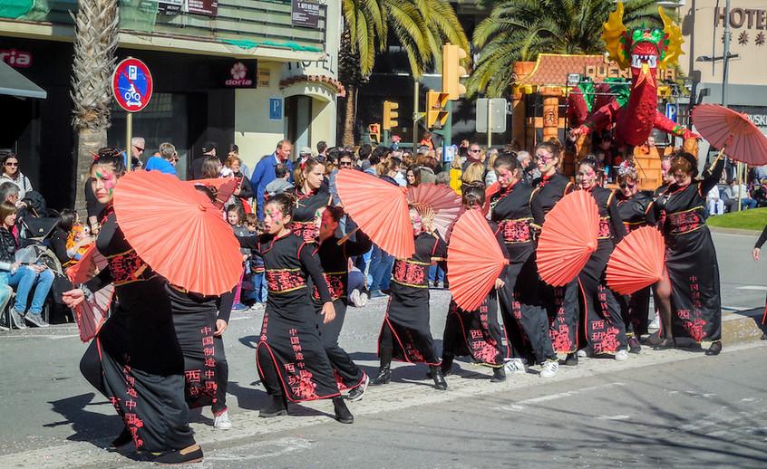 Spanje: Platja d'Aro - Carnaval (4)