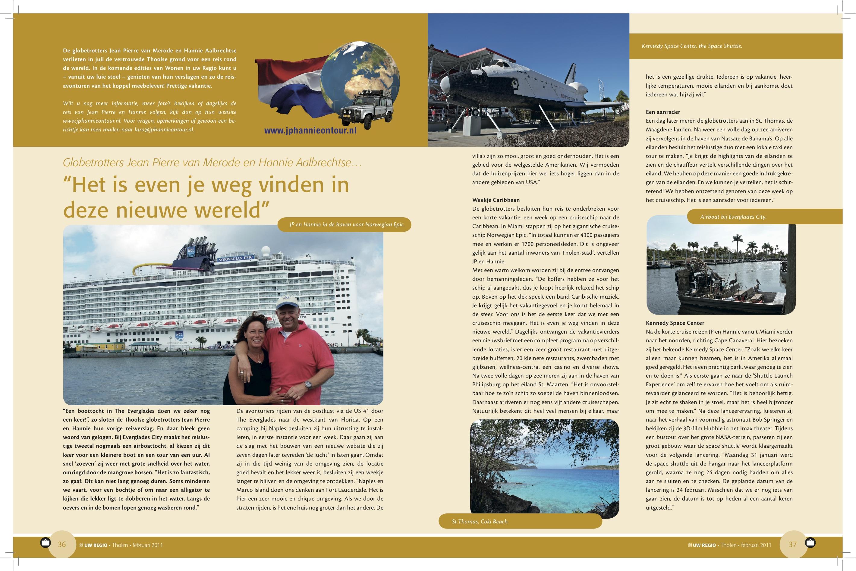 Reisverslag Februari 2011