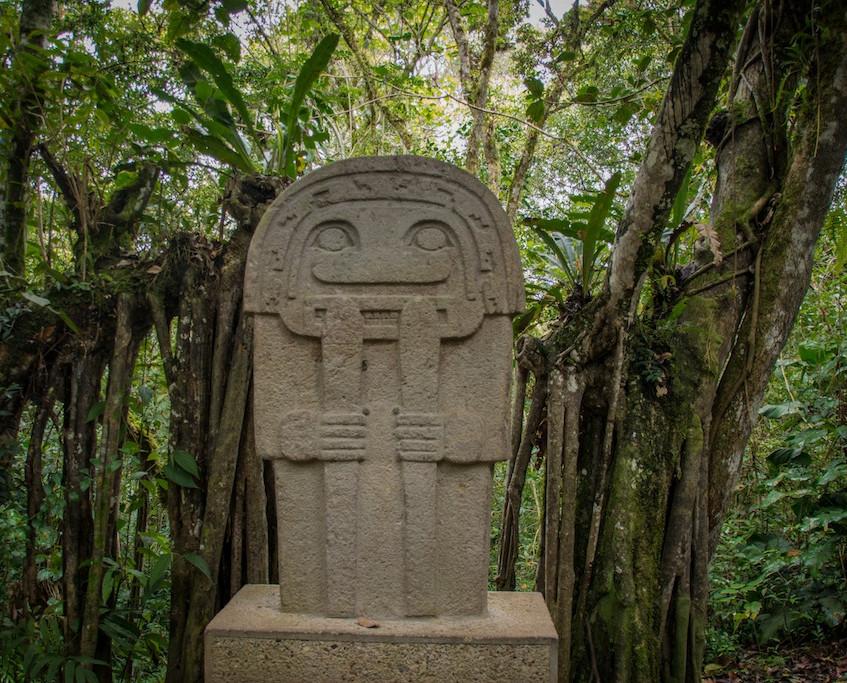 Colombia, San Agustin; archeological site (4)