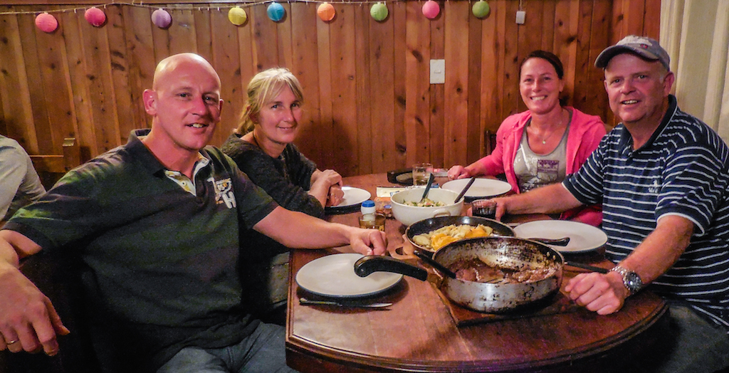 Argentina, San Carlos de Bariloche: together with Anja and Wim