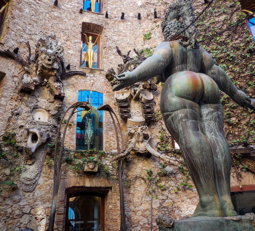 Spanje: Figueres-Salvador Dali Theatre Musea (4)