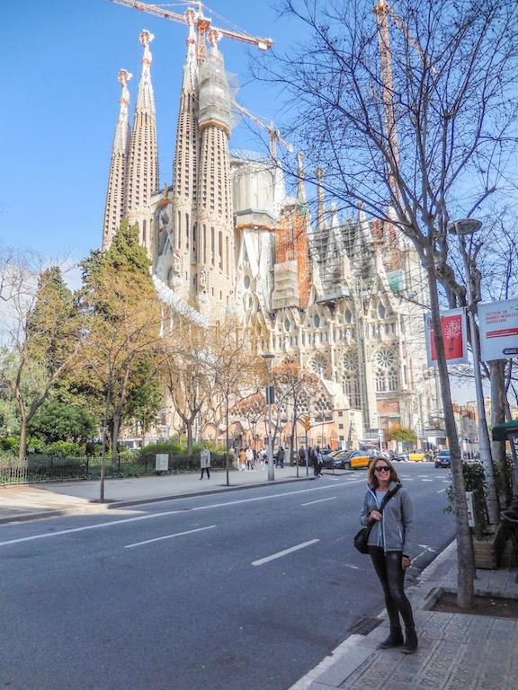 Spanje-Barcelona:La Sagrada Familia (3)