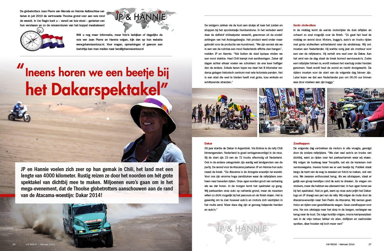 Reisverslag Februari 2014