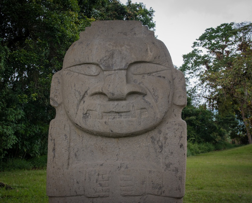 Colombia, San Agustin; archeological site (1)