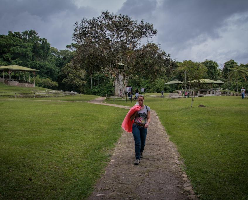 Colombia, San Agustin; archeological site (3)