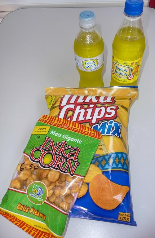 Peru, the Inca products