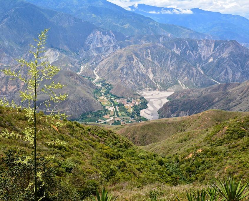 Colombia, Parque Nacional Cañon del Chicamocha (3)