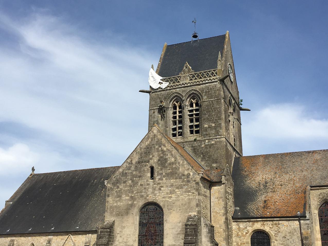 Frankrijk: Sainte Mère Eglise