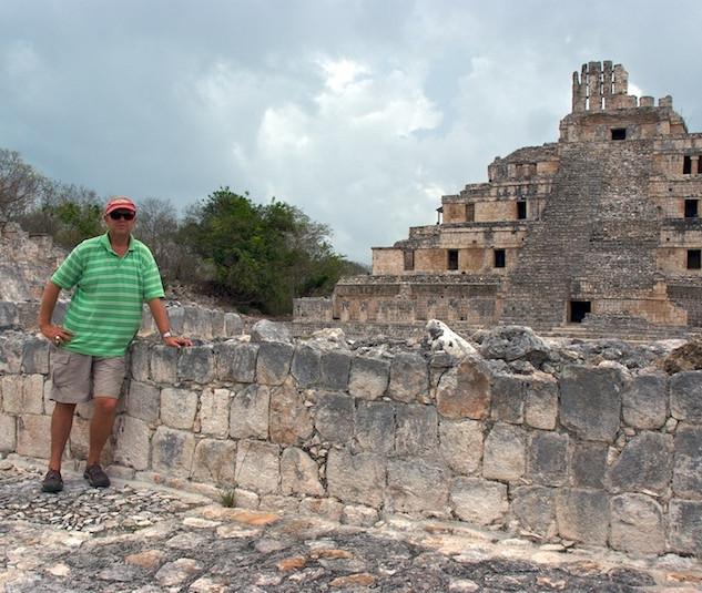 Mexico, Ruins Edzna (1)