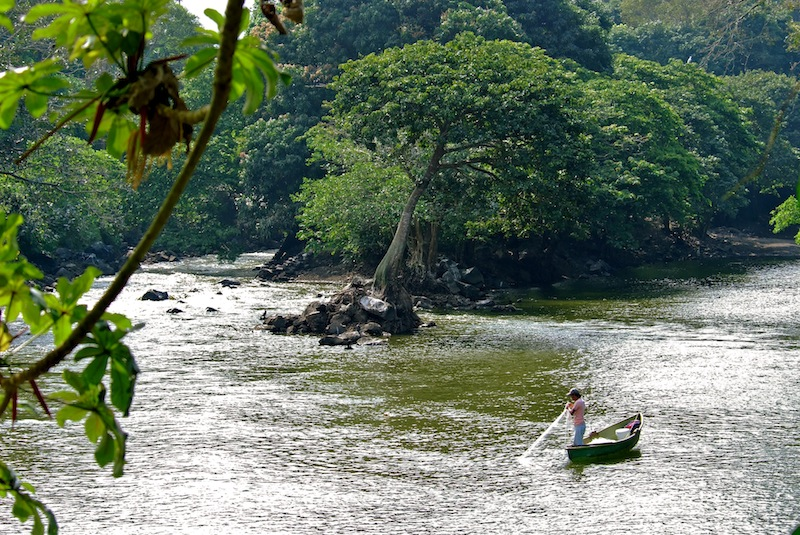 Mexico, Catemaco by the river (2)