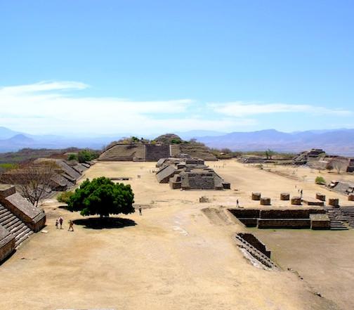 Mexico, Oaxaca; Mont Alban 1
