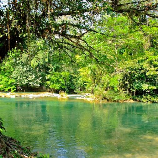 Mexico, Cascadas de Aqua Azul (3)