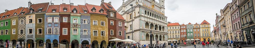 Afbeelding Marktplein in Poznan (Polen) | jphannieontour