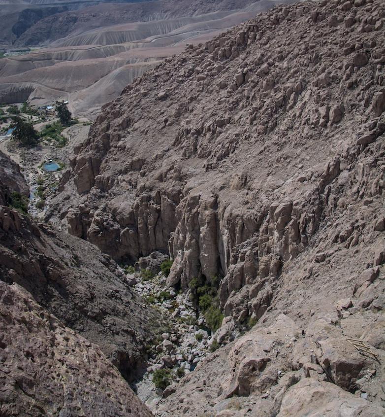 Chili, route Parque Nacional Lauca (3)