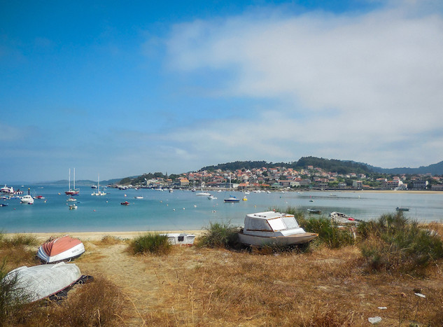 Spanje: Praia de Arneles (1)