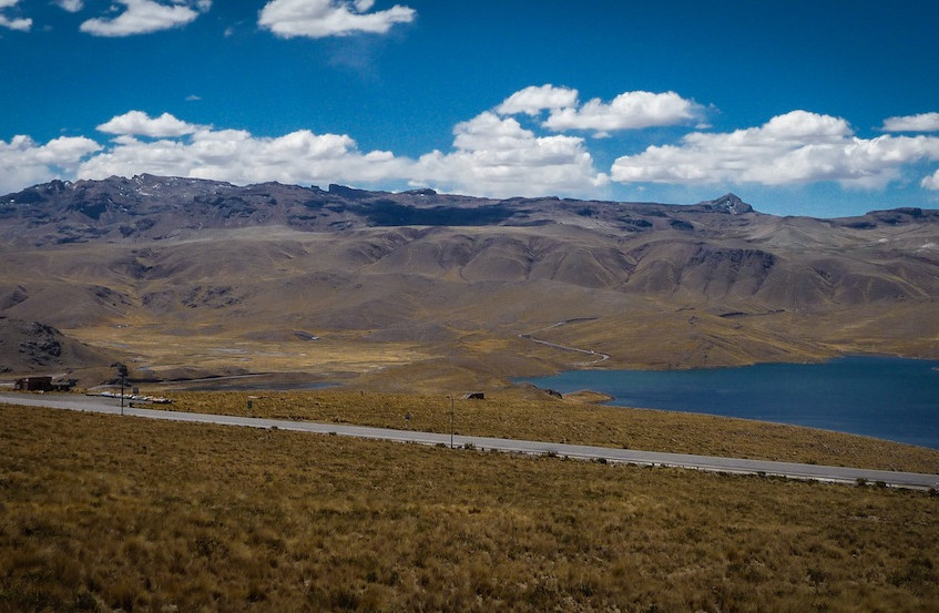 Peru, on the road from Arequipa to Sillustani (2)