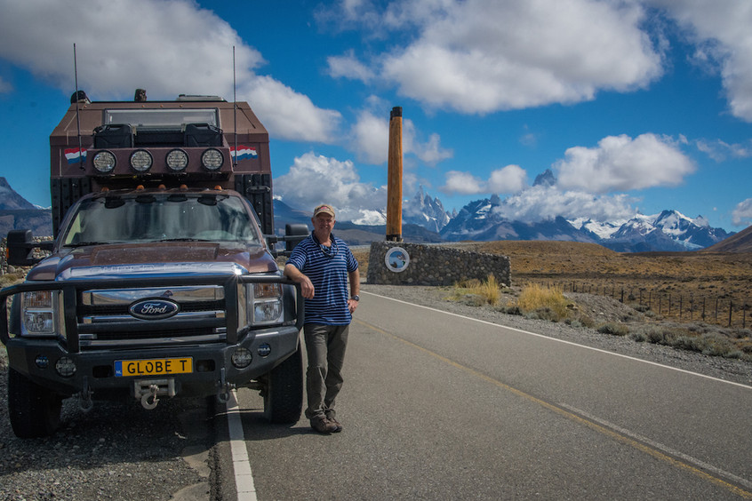 Argentina, on the road from El Chaltén
