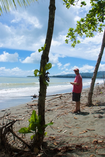 Costa Rica,Puerto Jimenez;on the road to Carate (4)