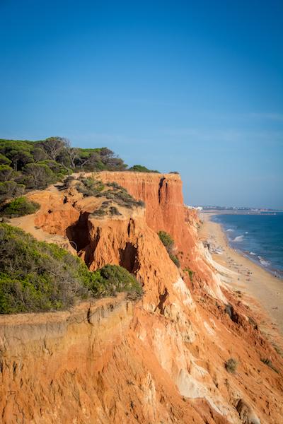 Portugal: Praia Falésia (2)