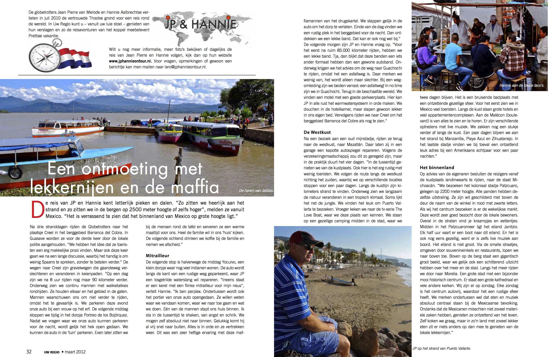 Reisverslag Maart 2012