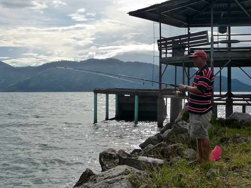 Honduras, Lago Yojoa ; JP fishing