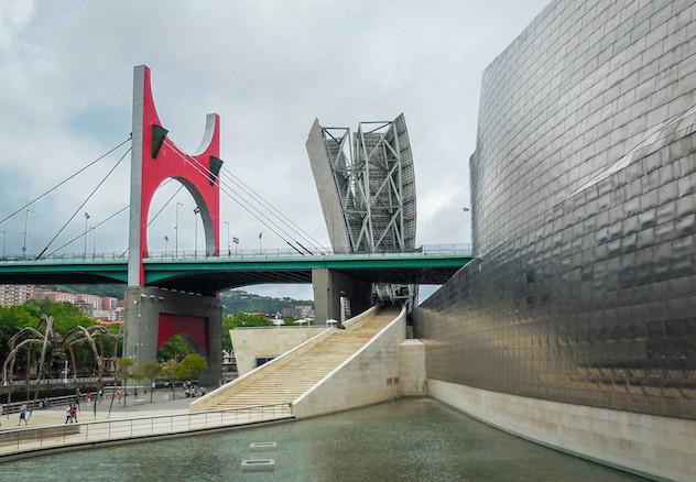 Spanje: Bilbao, Guggenheim museum (2)