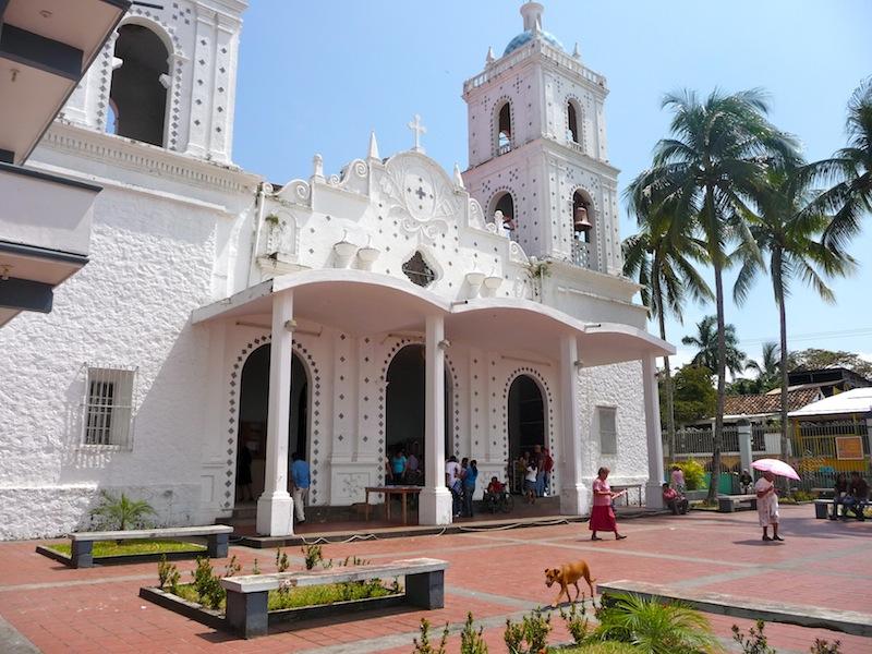 Mexico, Catemaco; the Zócalo