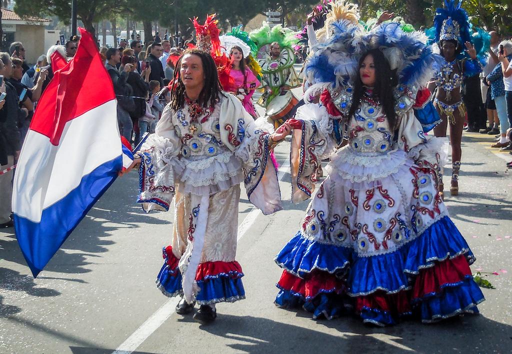 Frankrijk: Le Lavandou, Bloemencorso (6)