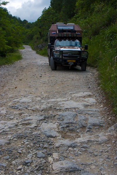 Guatemala on the road to Languin and Semuc Champey