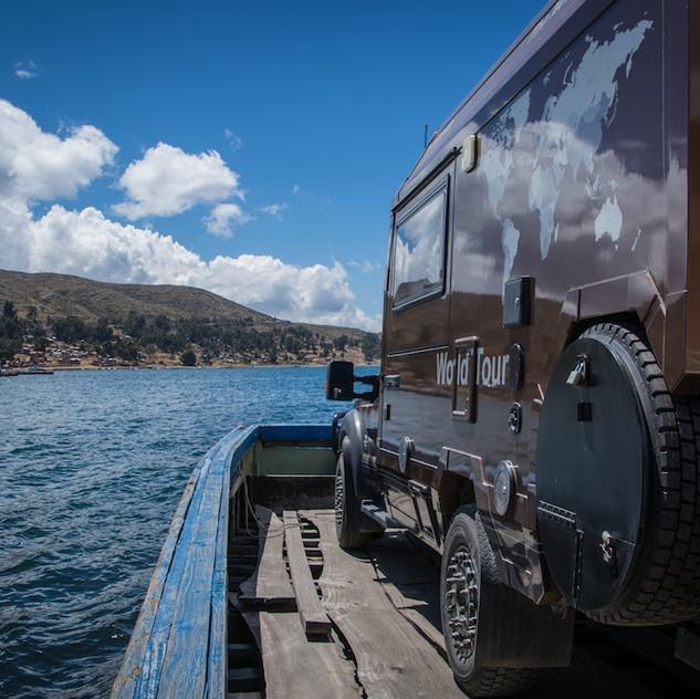 Bolivia, ponton on Lago Titicaca (3)